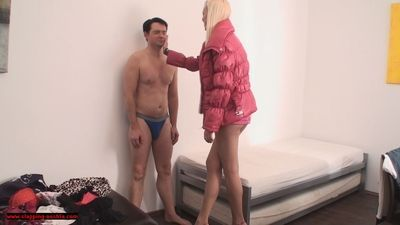 Houseboy punished by Princess Babsi